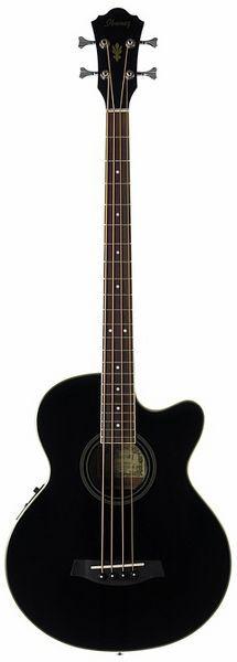 Ibanez AEB8EBK 293 €    Guapo, sencillo barato y negro... para casica no está nada mal ¿eh? ;)