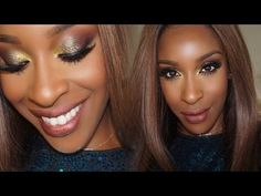 Sparkly New Years Eve Party Makeup | Jackie Aina - YouTube