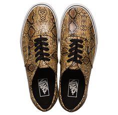 Vans Authentic Snakeskin Fall 2013