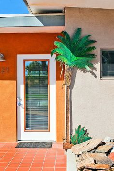Postcards From Palm Springs - Palm Springs is famous for its historic mid-century modern properties and our resort Terra Cotta Inn nude sunbathing resort and spa is the most famous. Come stay at our historic Inn built designed by Albert Frey. Call us at 1-800-786-6938 for a fun vacation in the sun.