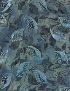 Timeless Treasures   Seasonal Leaves Batik