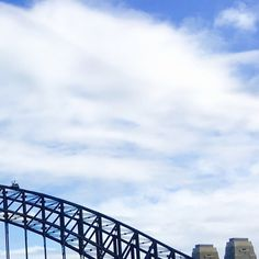 Sydney Harbour Bridge - see account for full photo #seesydney #visitsydney #seeaustralia #visitnsw #australiagram #australia #sydneyharbourbridge #bridge #harbour #photooftheday by exclamationphoto http://ift.tt/1NRMbNv