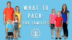 nice Royal Caribbean FAQ's: What To Pack For A Cruise With Kids