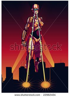 retro futuristic female robots - Google Search