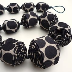 textile jewelry - Google Search