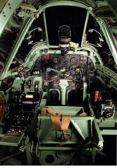 Cockpit Bristol Beaufighter