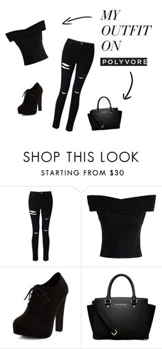 """""""sortie entre amies"""" by lydie31 on Polyvore featuring mode, Miss Selfridge, Chicwish, New Look et MICHAEL Michael Kors"""
