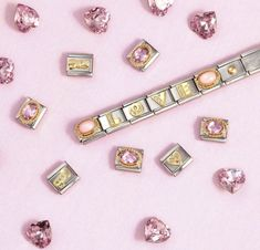 Nomination Charms, Nomination Bracelet, Feel Unique, Italian Style, Create Yourself, Valentines Day, Charmed, Watches, Bracelets
