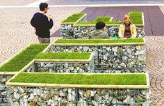 Innovative Urban Park Benches: Outdoor Seating image 37