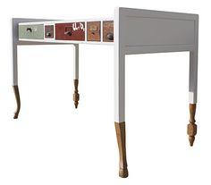 La récup' mariée au design. / Meubles uniques fabriqués à partir de matériels et meubles centenaires. / Secrétaire 194. / Rescue Collection.