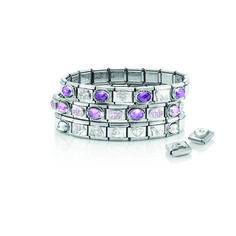 Nomination..The bracelet that tells your story. The bracelet and your first charm costs from £29. Extra precious charms in silver or 18ct gold from £16. Start collecting!