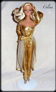 1980 Golden Dreams Barbie!  I remember having this barbie. Her name was always Goldie when I played with her.