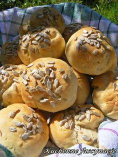 Bułeczki w godzinę. Buns in an hour. Buns, Bread, Food, Brot, Essen, Baking, Meals, Breads, Yemek