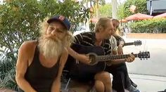 "Homeless musician Donald Gould and friends play ""Knockin' on Heaven's Door"" Abc 7, Street Musician, Street Performance, Video Go, Street Culture, Bob Dylan, Sarasota News, Play, Heavens"