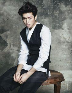 Toheart's Woohyun for W Korea April 2014