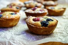 Belleau Kitchen: raspberry and blueberry mini frangipane tarts
