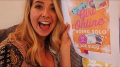 Zoella just announced the name and cover of girl online (3) going solo! #girlonline #zoella