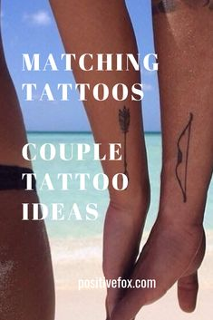 Couple Tattoos have a special meaning that connects the loving pair even more. There are many different types, but the most popular version of couple tattoo Cute Couple Tattoos, Tattoos For Guys, Boyfriend Girlfriend Tattoos, Pair Tattoos, Matching Tattoos, Tattoos With Meaning, Unique Tattoos, Cute Couples, Girlfriends