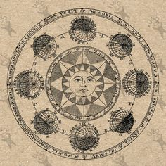 Antique image Astronomy #Earth Sun #Instant Download #picture  printable Vintage ,  View more on the LINK: http://www.zeppy.io/product/gb/3/209556519/