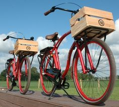 Someone needs to start a produce delivery program on bikes! Just sayin'.