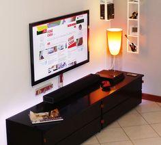 Come nascondere sulla parete i fili della tv? - Cose di Casa