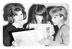 Sheila , Françoise Hardy y Sylvie Vartan