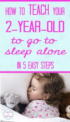 Do you need to teach your toddler to go to sleep alone? It doesn't have to be a nightmare - this simple 5 step plan will help you work with your child to build their independence without tears. Kids Sleep, Go To Sleep, Baby Sleep, Toddler Bedtime, Sleeping Alone, Toddler Discipline, Toddler Behavior, Parenting Toddlers, Parenting Tips