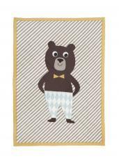 ferm LIVING - Bear qulited blanket