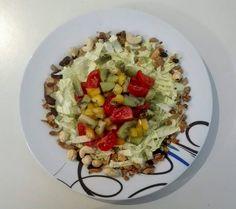 Knackiger Chinakohlsalat mit fruchtiger Note Cobb Salad, Note, Lettuce Recipes, Essen