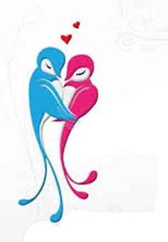 dibujos de enamorados - Buscar con Google