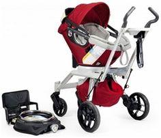 Orbit Baby Stroller Travel System G2 - Ruby Red $900  has car seat