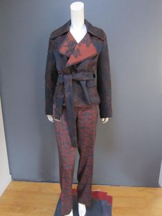 DRIES VAN NOTEN 100 % wool trousers pants NWT size 44 matching jacket available #DriesvanNoten #wool