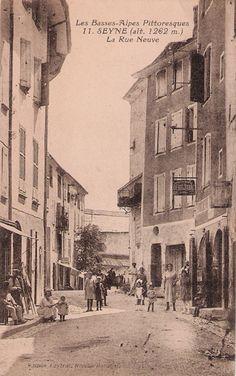 Seyne-les-Alpes vintage