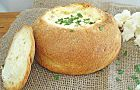 Bacon and Cheese Cob Loaf - Best Recipes Don't turn up to your next party empty handed – this easy cheese and bacon cob loaf dip was made for sharing. Cob Dip, Cob Loaf Dip, Loaf Recipes, Dip Recipes, Cooking Recipes, Vol Au Vent, Spinach Cob Loaf, Spinach Dip, Cobb Loaf