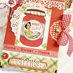 OC na rower Book Layouts, Sweet Home, Scrapbooking, Album, Retro, Recipes, House Beautiful, Recipies, Ripped Recipes