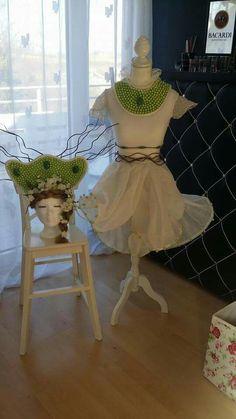 Dress & Headpiece