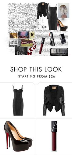 """""""K.S. - concert"""" by starlightschool ❤ liked on Polyvore featuring Dolce&Gabbana, Max Azria, Christian Louboutin, NARS Cosmetics and OC"""