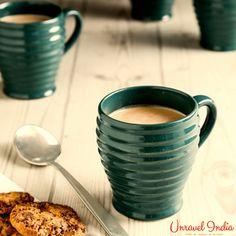 15d11b574c2 Unravel India hand crafted stoneware coffee mug set(Set of 6)  Teacups