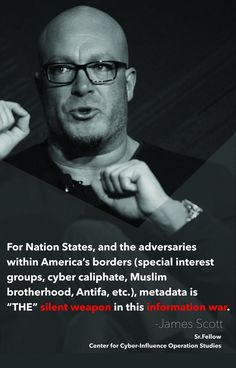 James Scott, Co-founder at ICIT and CCIOS    icitech.org/icit-introduces-center-for-cyber-influence-operations-studies-ccios/    #InformationWar  #CyberWar  #Infosec  #InsiderThreat  #Weapon  #Metadata  #CyberCaliphate  #Antifa  #Muslimbrotherhood  #NationalSecurity  #USA  #Defense  #JamesScott  #CCIOS  #ICIT  #CenterforCyberInfluenceOperationsStudies  #InstituteforCriticalInfrastructureTechnology  Technology