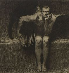 Franz von Stuck, The Franz von Stuck Collection Lucifer
