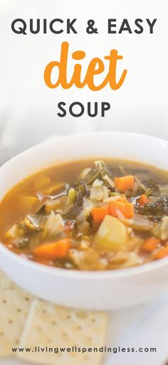 Winter Diet Soup Recipe   Healthy Winter Soup   Slimming Soups   Fat-Burning Soups   Winter Weight Loss Soup⎢Quick and Easy Recipes   via @lwsl