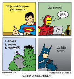 Super Hero Resolutions for 2013