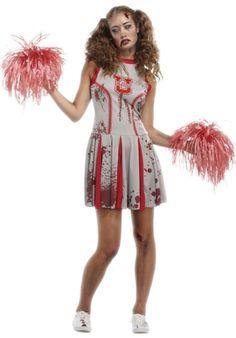 Zombie Cheerleader Kids Costume - Girls Costumes | stuff ...