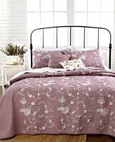 Nostalgia Home Bedding, Viola Quilts