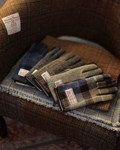 Harris Tweed Gloves. http://www.annabelchaffer.com/categories/Gentlemen/