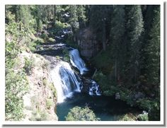 waterfalls near Redding | CA