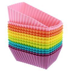 $8.50 Freshware CB-308SC 12-Pack Rectangular Silicone Reusable Baking Cup, Six Vibrant Colors Freshware, Inc,http://www.amazon.com/dp/B00GASM3BU/ref=cm_sw_r_pi_dp_PtH5sb0T8HWMB952