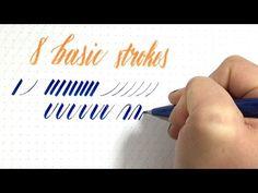 Intro to Brush Lettering: Basic Strokes | Hello Brio Studio