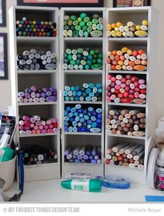Organization for Your Creative Space – Coloring Mediums