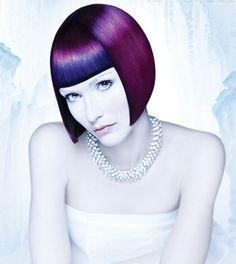 black, purple, blue, magenta hair! color formulas :)